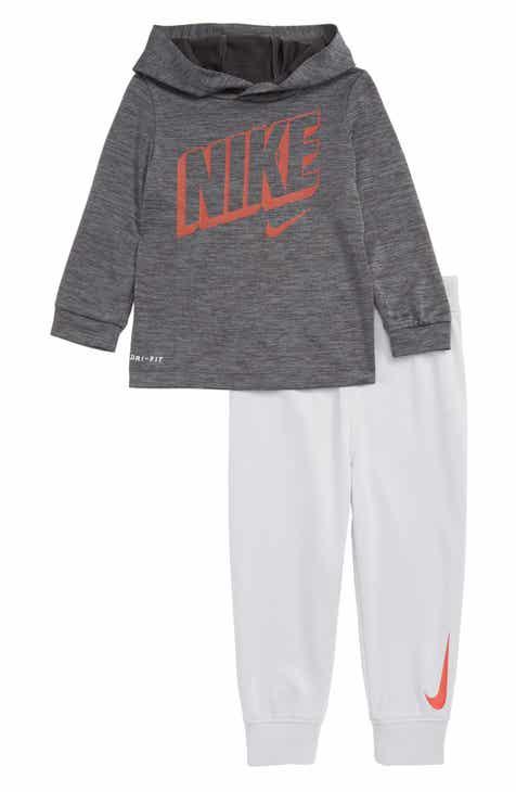 Nike Dri-FIT Hoodie   Jogger Pants Set (Baby) 39e237cdd
