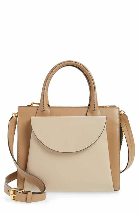 7492f234803 Marni Law Colorblock Leather Top Handle Satchel