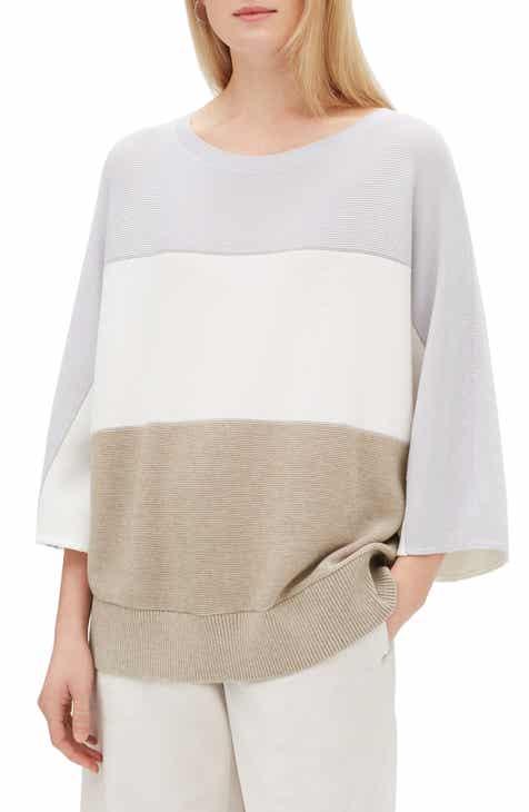 Lafayette 148 New York Stripe Dolman Sweater by LAFAYETTE 148