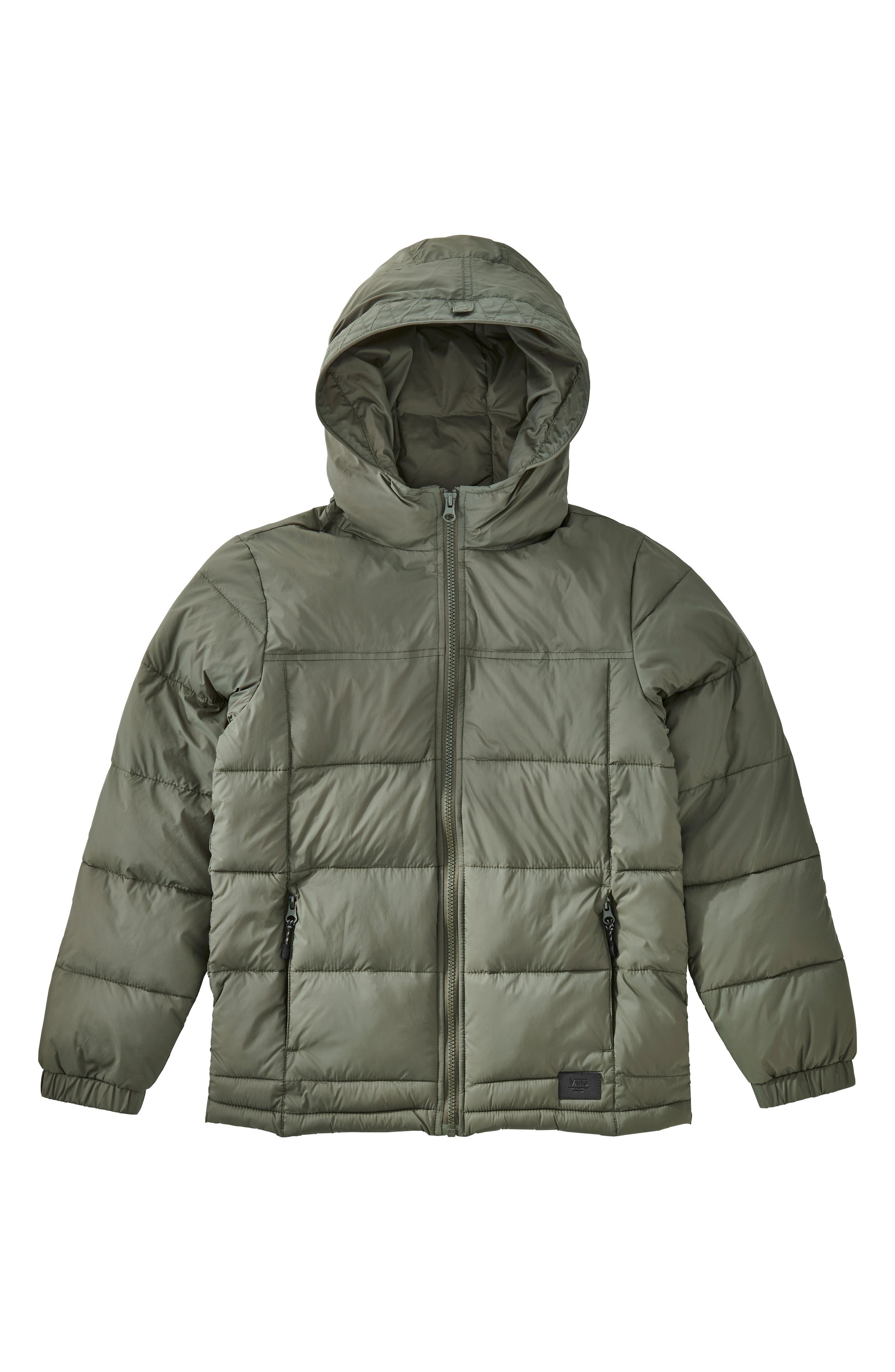 Vans Woodcrest MTE Water Repellent Packaway Puffer Jacket (Big Boys) Boys\u0027 Coats, Jackets \u0026 Outerwear: Fleece Parka | Nordstrom