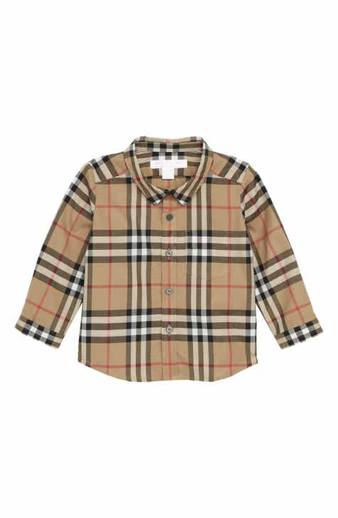 Burberry Fred Plaid Shirt (Baby Boys) a1146229e05f