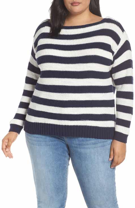 6a1f0d5a32f Caslon® Rib Sweater (Plus Size)
