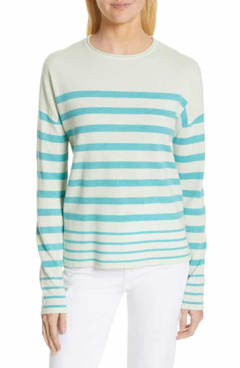 Nordstrom Signature Stripe Cashmere Sweater by NORDSTROM SIGNATURE