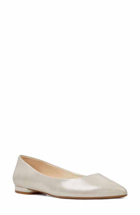 1488860f759e Nine West  Onlee  Pointy Toe Flat (Women)