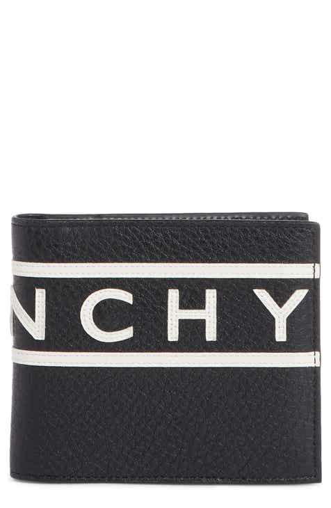 Givenchy Logo Calfskin Leather Wallet 0209a7091