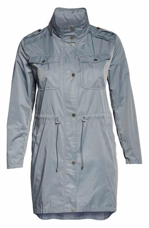 7f647965d90 Badgley Mischka Dakota Raincoat (Plus Size)