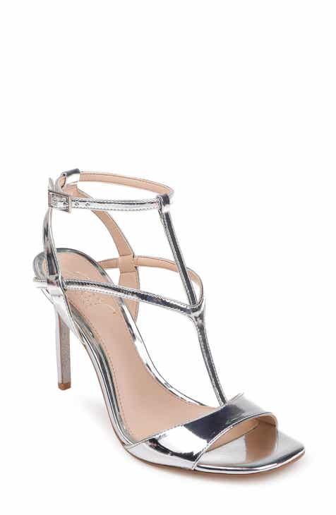 156f1c34d25 Jewel Badgley Mischka Kiki Ankle Strap Sandal (Women)