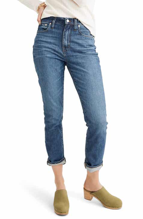 Madewell The High Waist Slim Boyjean Boyfriend Jeans (Evangeline) by MADEWELL