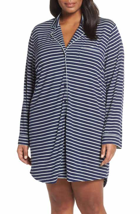 Nordstrom Lingerie Moonlight Nightshirt (Plus Size) 9d3aa365f