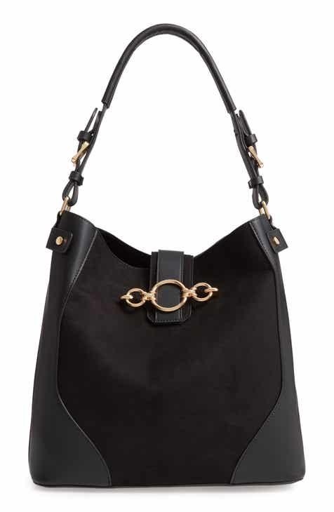 f62a942e6b1 Topshop Cleo Faux Leather Hobo Bag
