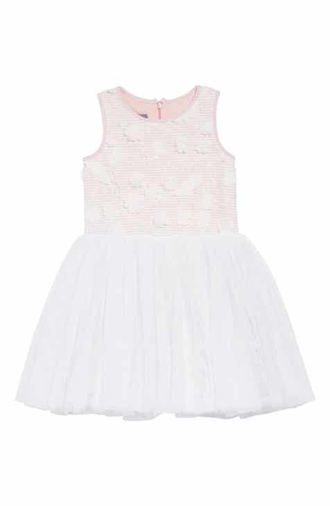 Pastourelle by Pippa & Julie Embellished Bodice Dress (Toddler Girls & Little Girls)