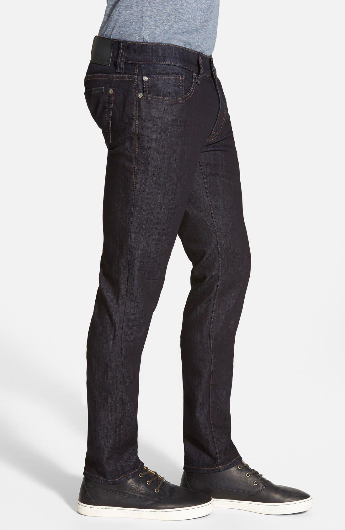 Torino Slim Fit Jeans,                             Alternate thumbnail 3, color,                             Revolution Rinse