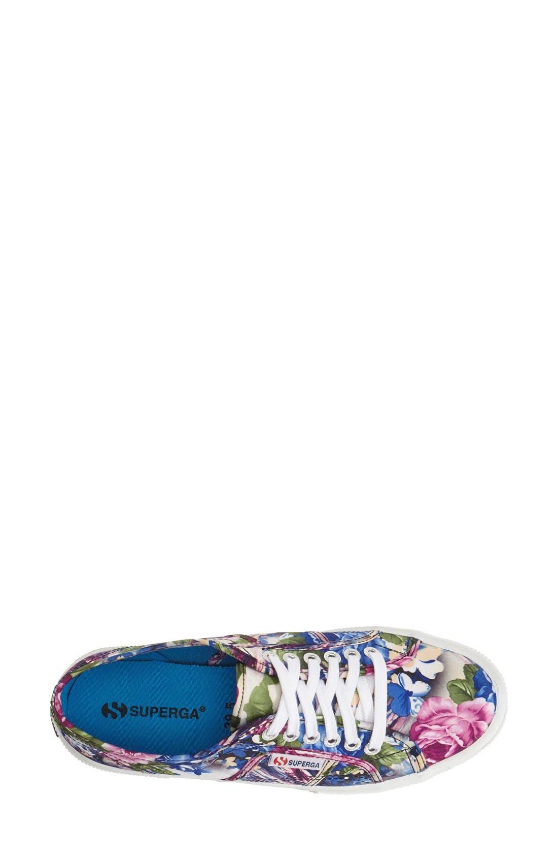 Alternate Image 3  - Superga 'Cotu' Floral Print Sneaker (Women)
