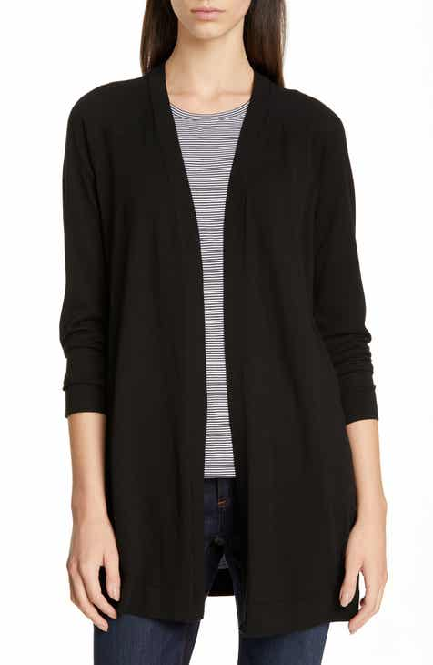 Eileen Fisher Simple Long Cardigan (Regular & Petite) by EILEEN FISHER