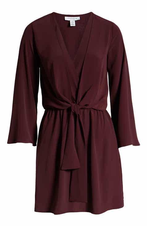 17db983c8210 Topshop Tiffany Knot Minidress