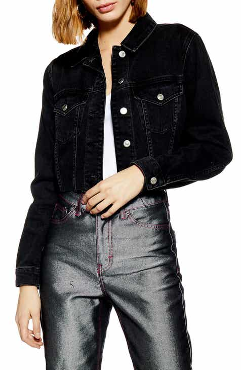 Topshop Tilda Hack Denim Jacket f876f4594882