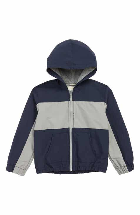 33a302e117613 Tucker + Tate Get Outside Colorblock Hooded Jacket (Toddler Boys