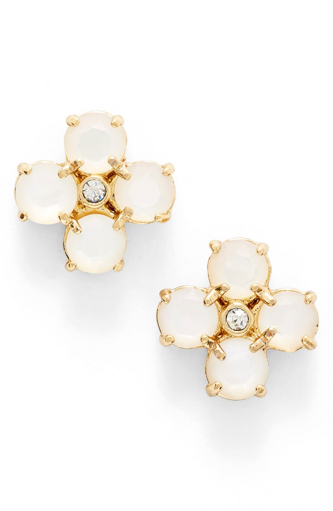 Main Image - kate spade new york 'central park pansy' stud earrings