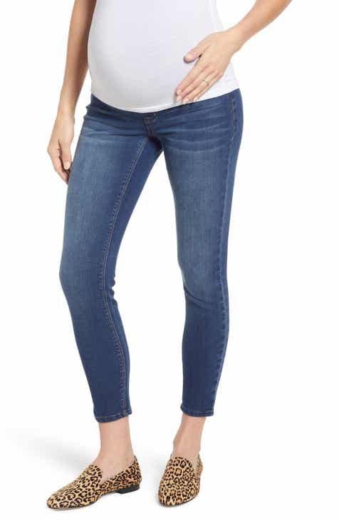 8fe99ac154a24 1822 Denim Stretch 360 Ankle Skinny Maternity Jeans (Ziggy)