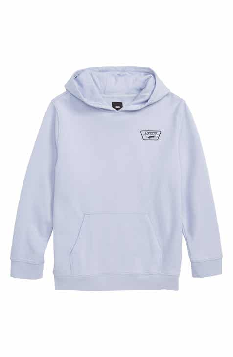 13594499a4fe10 Vans  Full Patched  Fleece Hoodie (Big Boys)