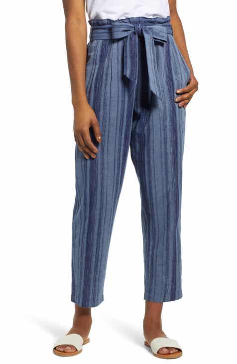 ae5b5e458cc9 Caslon® Belted Pants (Regular   Petite)