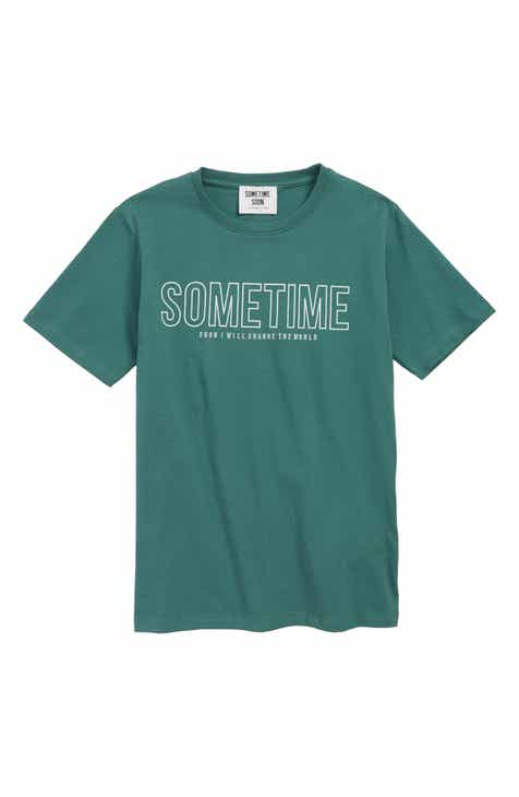 Sometime Soon Imperial Graphic T-Shirt (Big Boys)