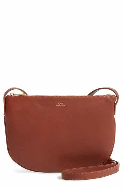 dd9b0849a A.P.C. Sac Maelys Leather Crossbody Bag