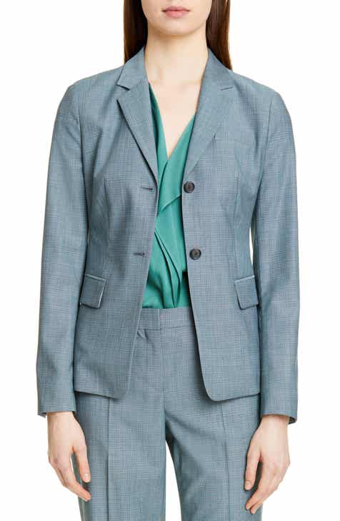 BOSS Jomana Minidessin Wool Jacket (Regular & Petite) by BOSS HUGO BOSS