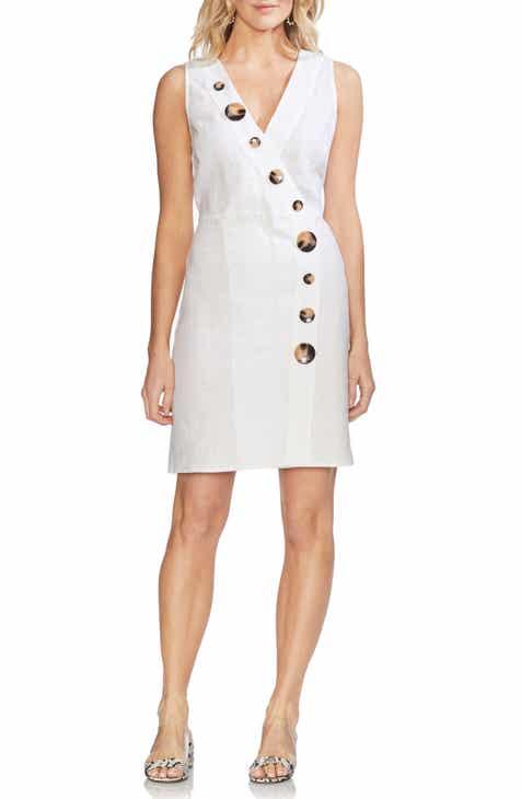 326f5668416 Vince Camuto Linen Shift Dress