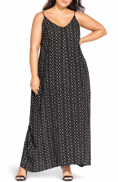 City Chic Maxi Dress (Plus Size)