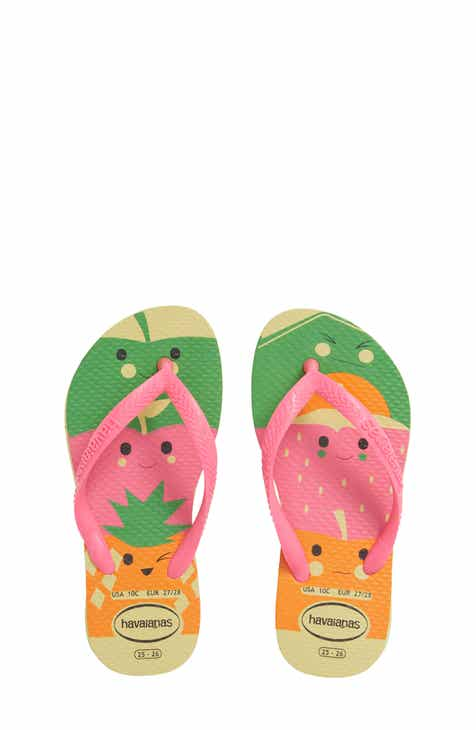 e97906386 Havaianas Slim Fun Water Resistant Flip Flop (Toddler   Little Kid)