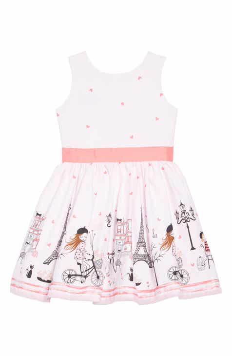 Fiveloaves Twofish Ohlala Fit & Flare Dress (Toddler Girls