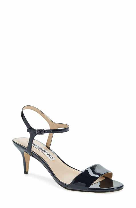 a70575f158cf Karl Lagerfeld Paris Ankle Strap Sandals for Women