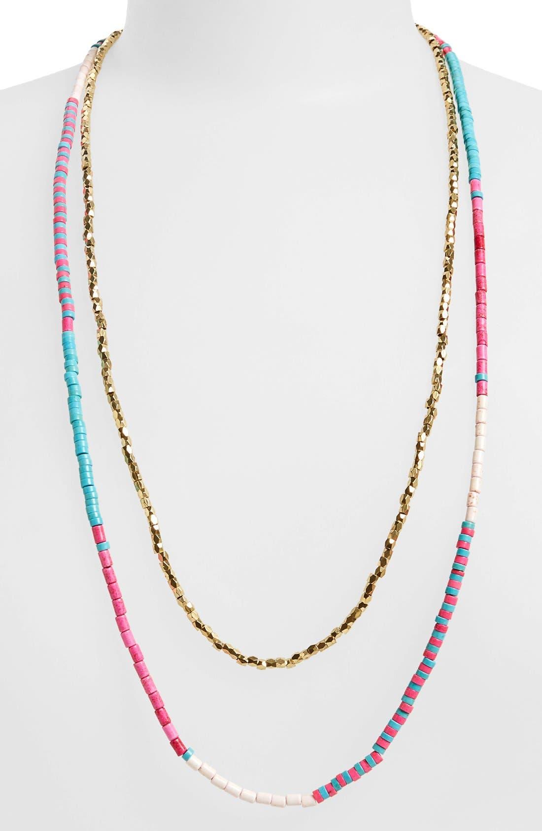 Main Image - Panacea Beaded Multistrand Necklace