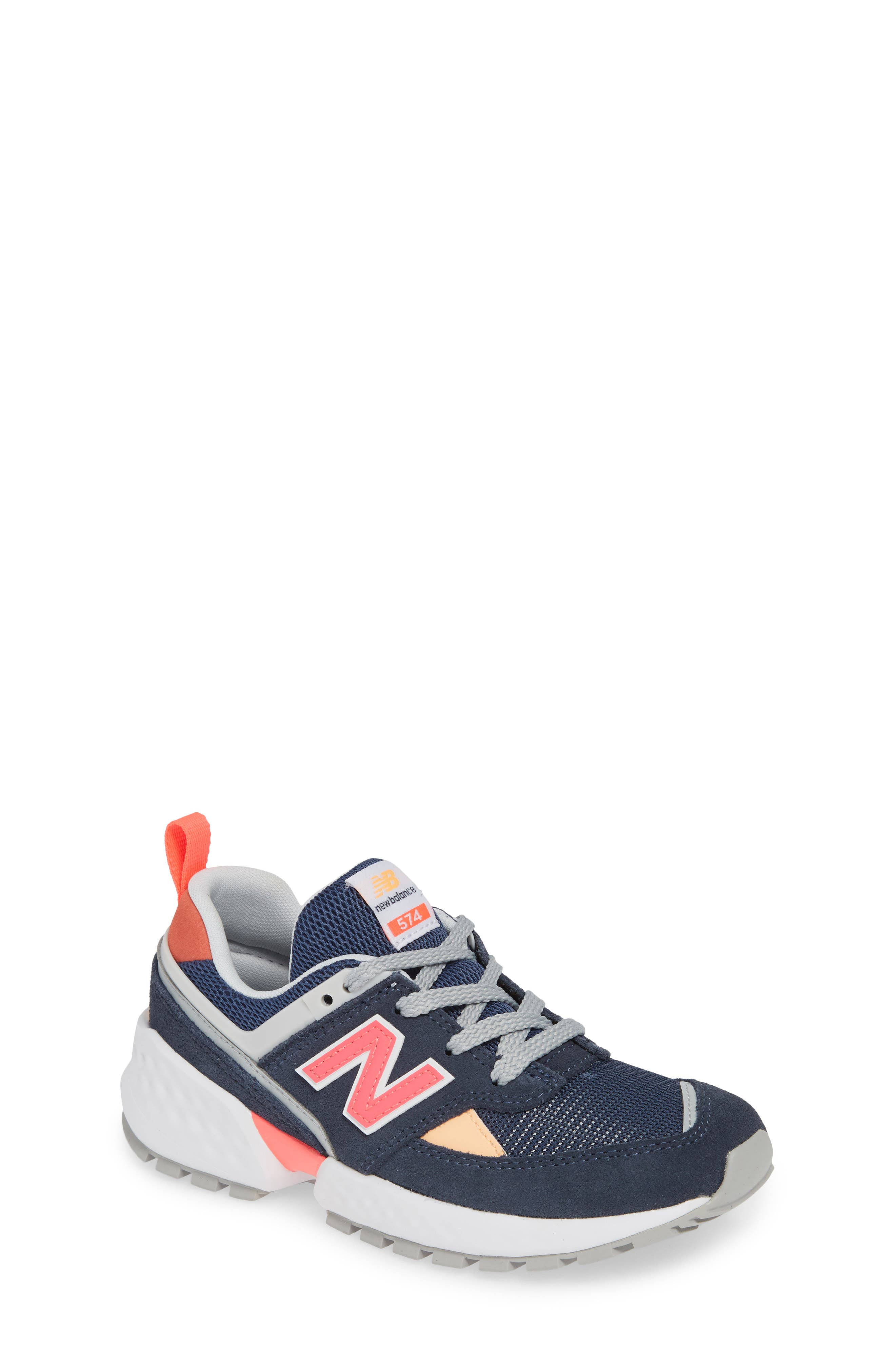 Boys' Shoes Clothing, Shoes & Accessories Hi Lite Big Kid 6 Extra Wide New Balance Youth Running Shoe Velcro Magnet