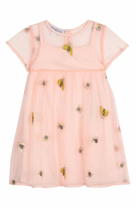 cb2d1b511b7 Pippa   Julie Embroidered Bee Dress (Toddler Girls