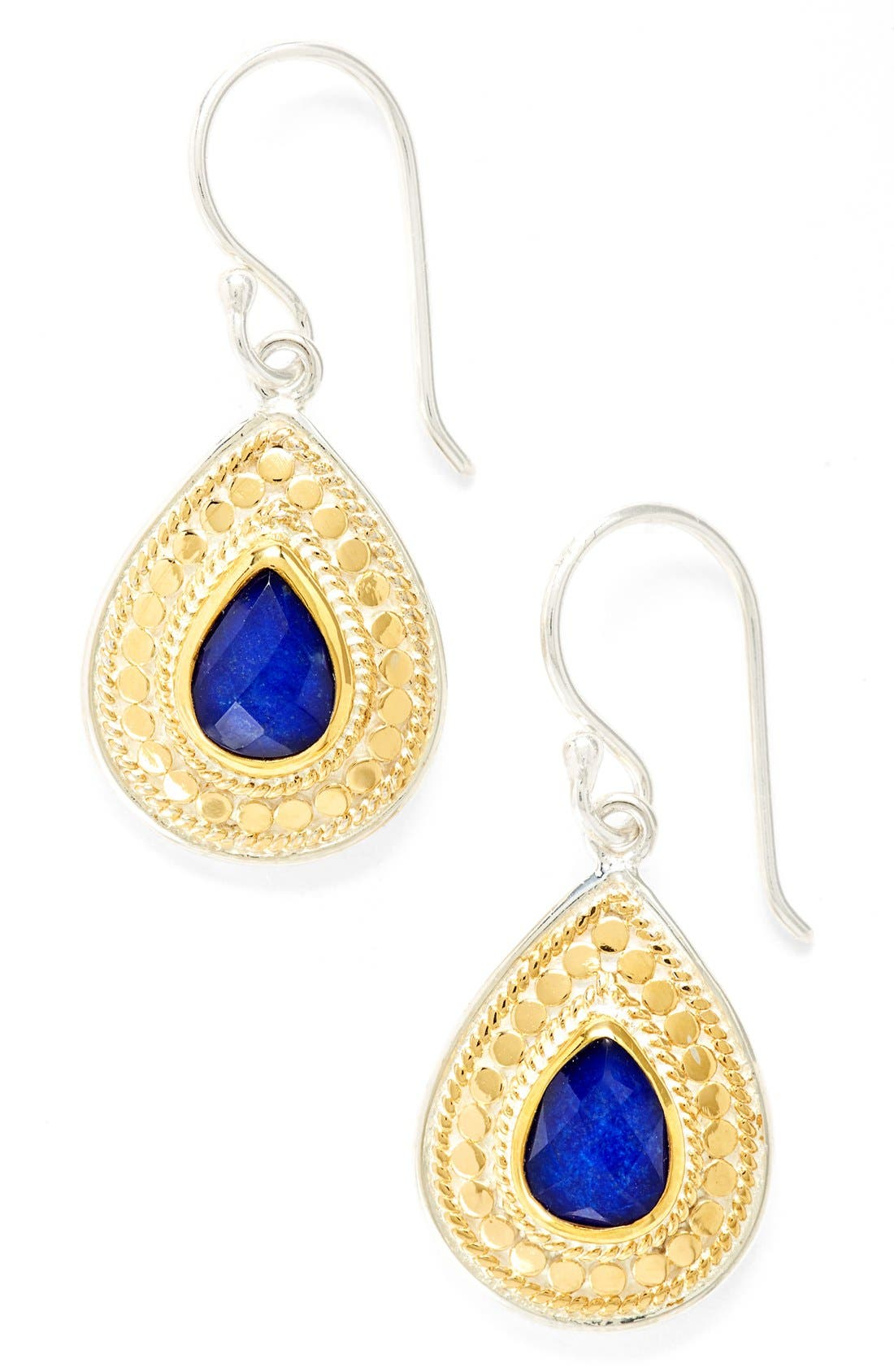 Anna Beck 'Gili' Lapis Teardrop Earrings (Nordstrom Exclusive)