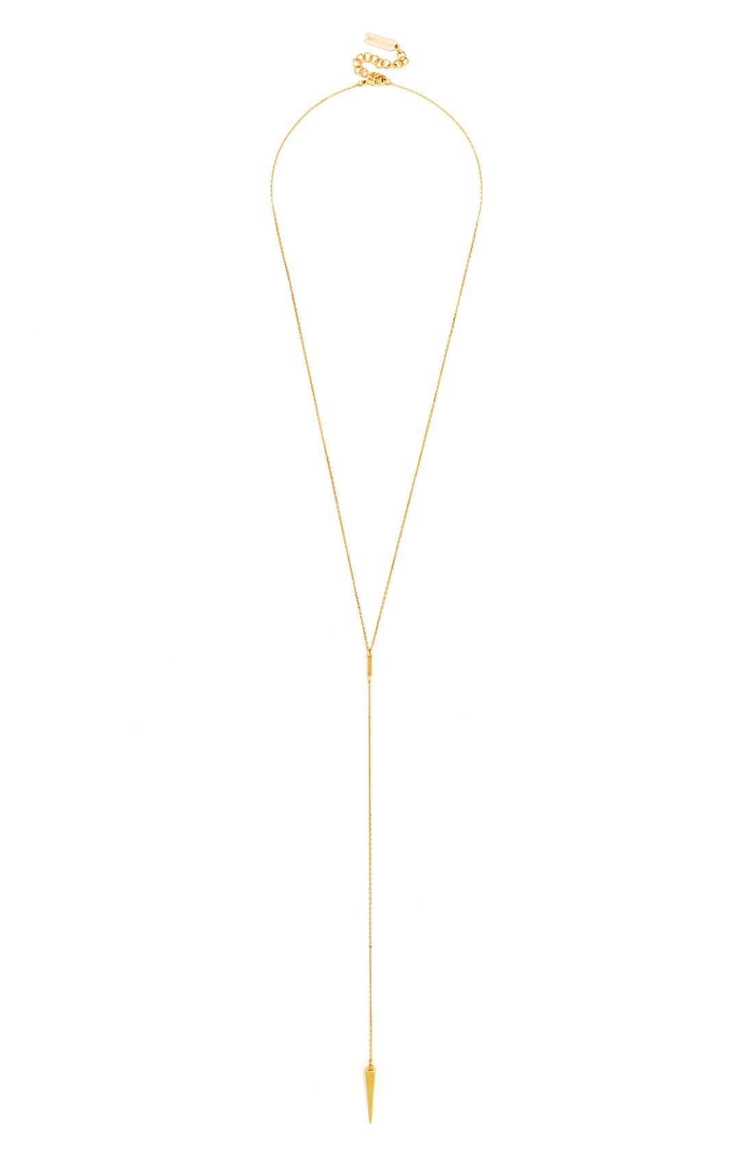 'Pyramid' Layered Necklace Gift Set,                             Alternate thumbnail 2, color,                             Gold