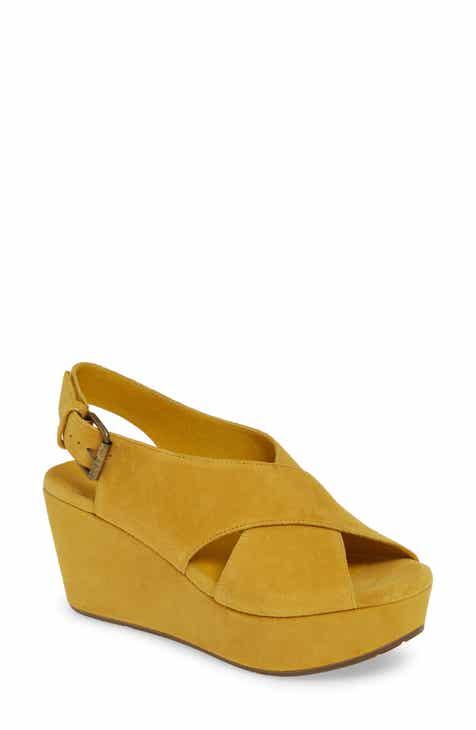 f0e9a0c8b18d Chocolat Blu Wim Platform Wedge Sandal (Women)
