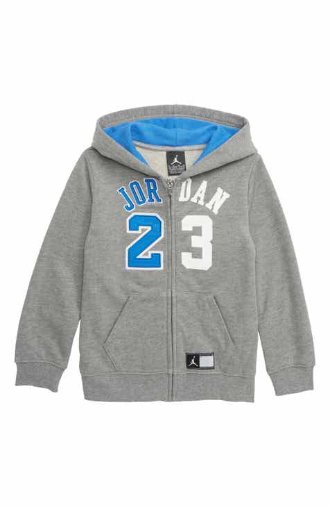 a74802474797 Jordan Flight History Full Zip Hoodie (Toddler Boys   Little Boys)