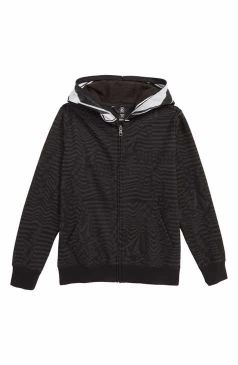 best service 4110d a6acb Volcom Cool Stone Full Zip Hoodie (Big Boys)