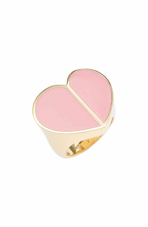66186ccd746bf5 kate spade new york heritage spade heart ring