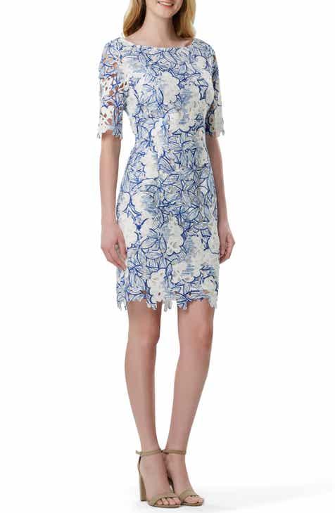 aa23a2e686 Tahari Chemical Lace Sheath Dress