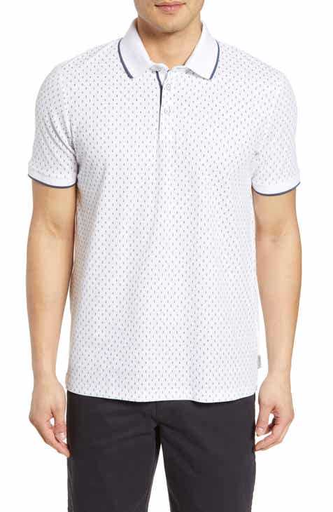 15f4e911e5c9f7 Ted Baker London Tofftt Slim Fit Print Piqué Polo
