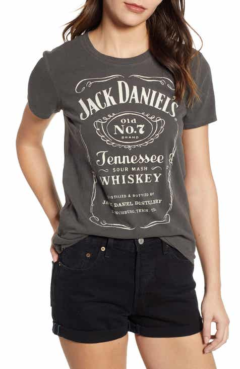 fc192c2a449 Lucky Brand Jack Daniels Graphic Tee