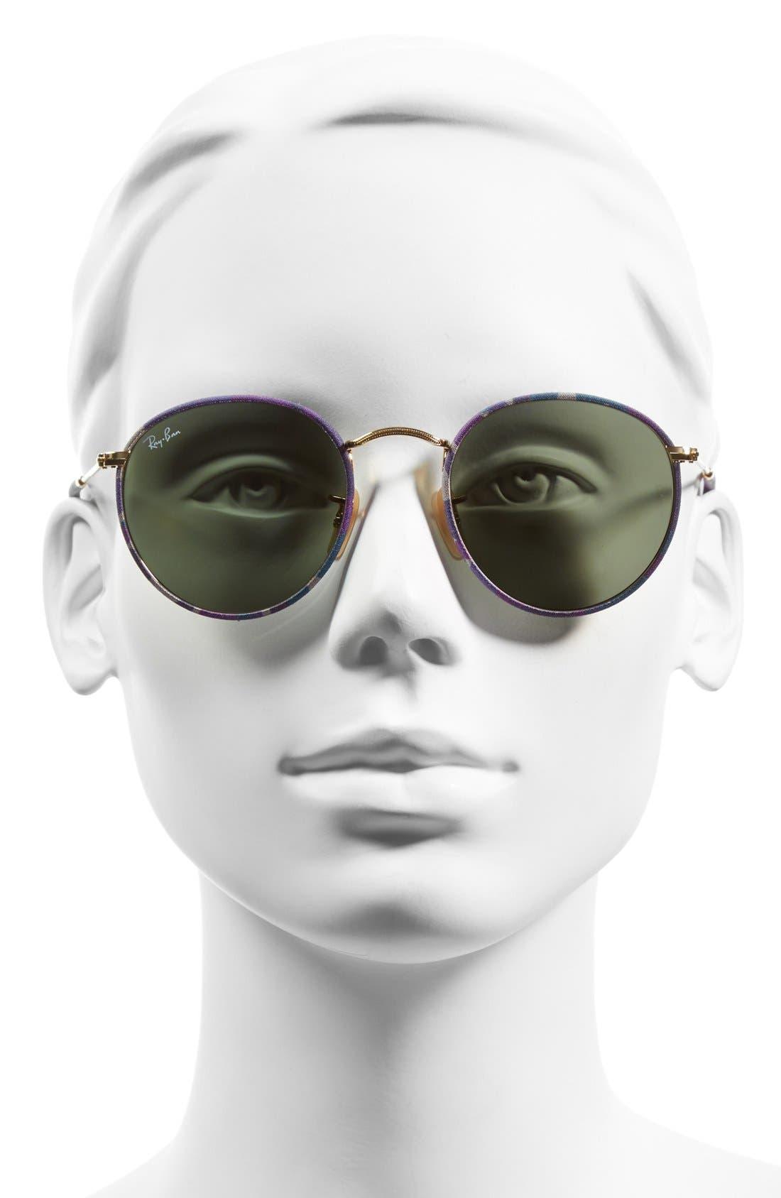 Alternate Image 2  - Ray-Ban Icons 50mm Camo Print Round Sunglasses
