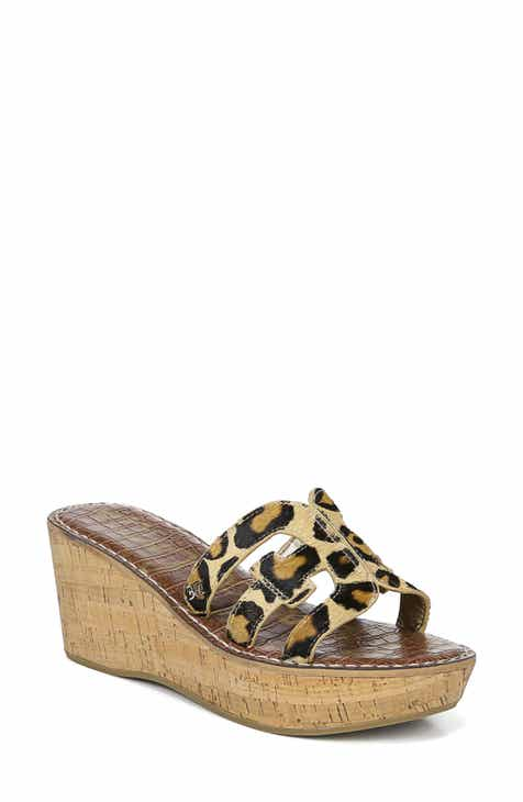 49dd6d9203feb9 Sam Edelman Regis Platform Wedge Slide Sandal (Women)