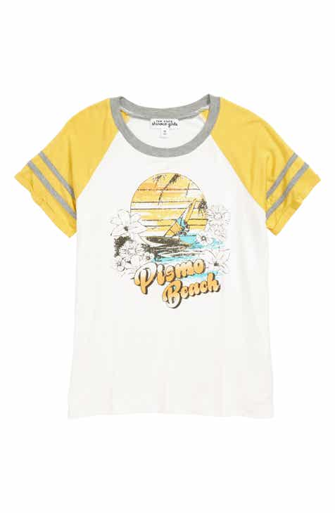 7ec9c5bf7928 Ten Sixty Sherman Pismo Beach Varsity Tee (Big Girls)