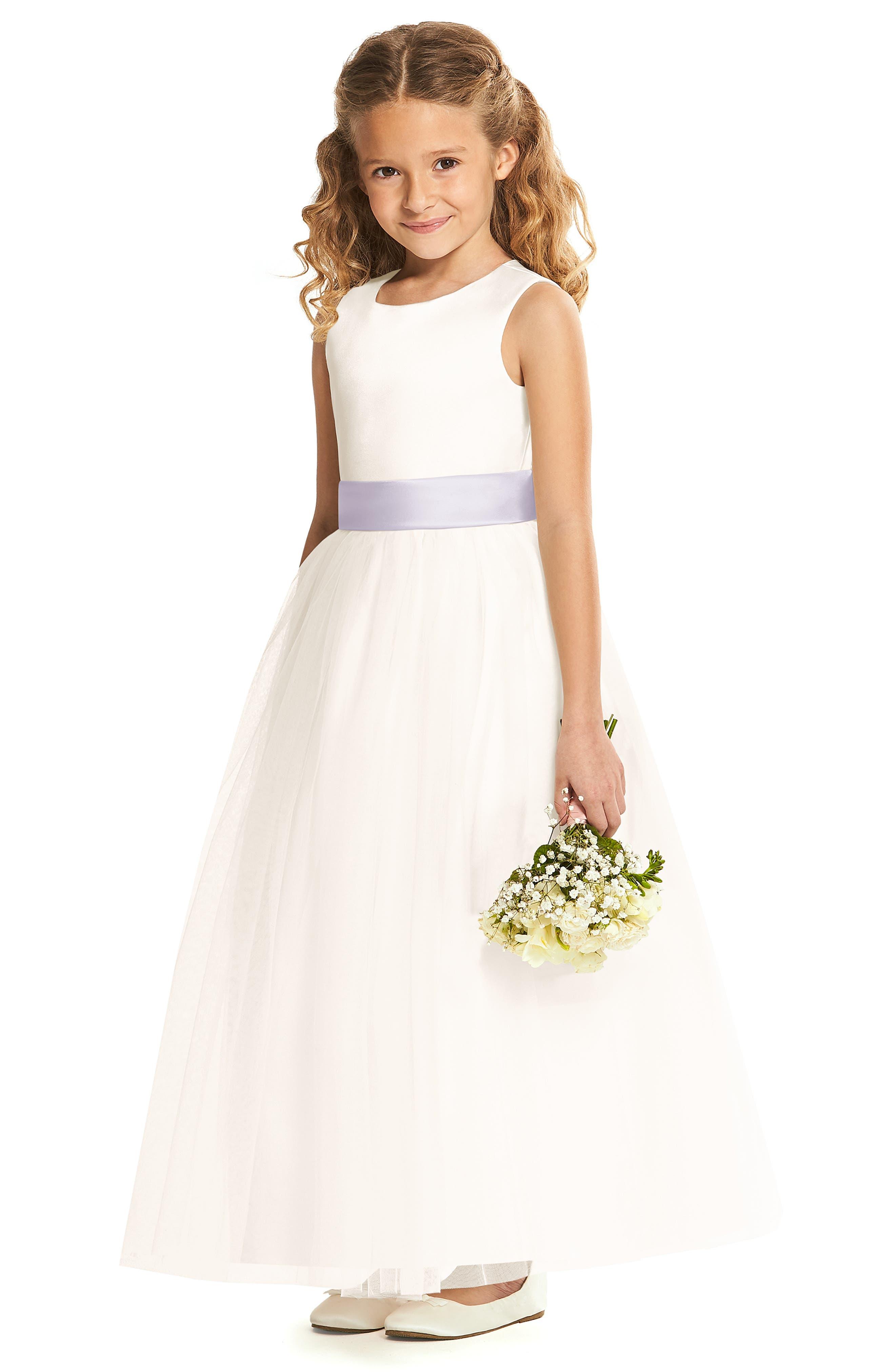 Tulle flower girl dress Pageant dress-Princess dress-Beige flower dress Flower girl dress Champagne Dress Tulle dress-InfantToddler