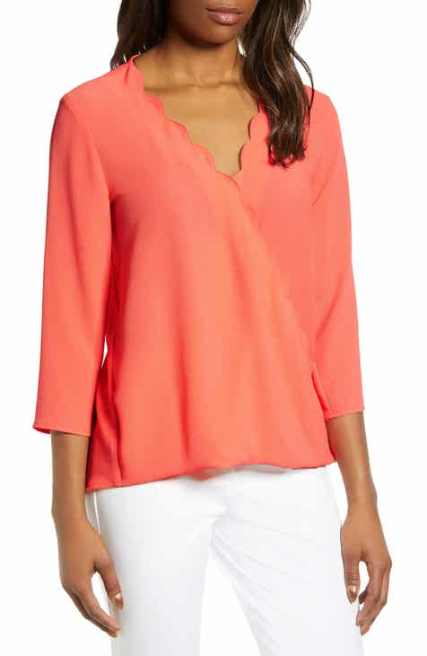 d3b527e13e3 Gibson x International Women s Day Rebecca Scalloped Wrap Top